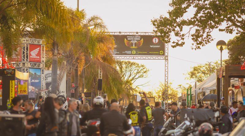 Brasília é a Capital do Moto Week que reúnecerca de 700 mil motociclistas do Brasil e países vizinhos