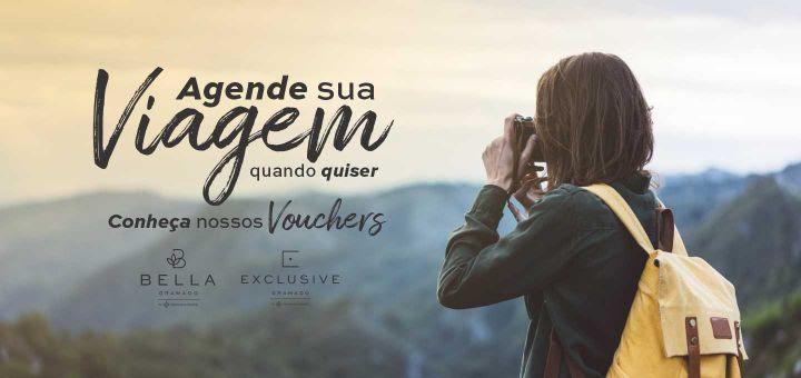 Gramado Parks lança vouchers com datas flexíveis de hospedagem nos hotéis Bella e Exclusive Gramado na Serra Gaúcha